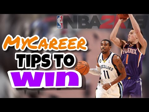NBA 2K19 MyCareer Tips and Tricks