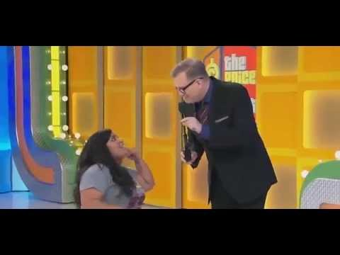 Price is Right Contestant in a Wheelchair wins treadmill