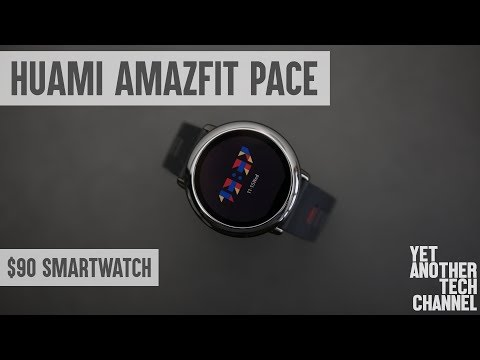 Xiaomi Huami Amazfit Pace review - a very pleasant surprise!