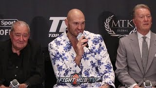 "LOL! TYSON FURY SAYS DEONTAY WILDER WILL KO ""147 YEAR OLD"" LUIS ORTIZ IN REMATCH"