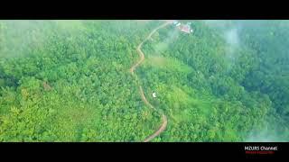 Pemandangan di Kampung Tampasak Liwan, Tambunan, Sabah