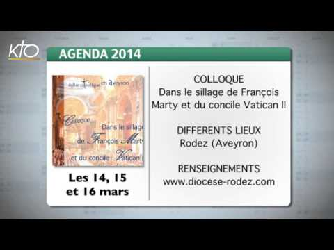Agenda du 7 mars 2014