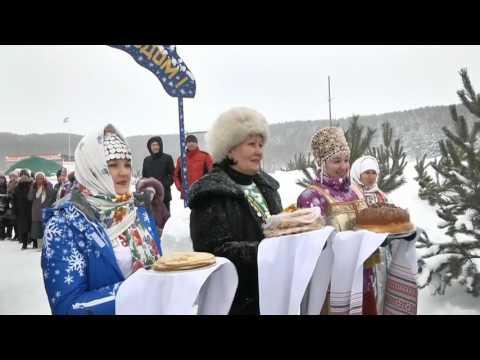 Северная Юрта Деде Мороза Мишкинский район (2017)