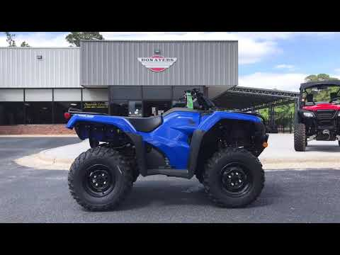 2021 Honda FourTrax Rancher 4x4 Automatic DCT IRS EPS in Greenville, North Carolina - Video 1