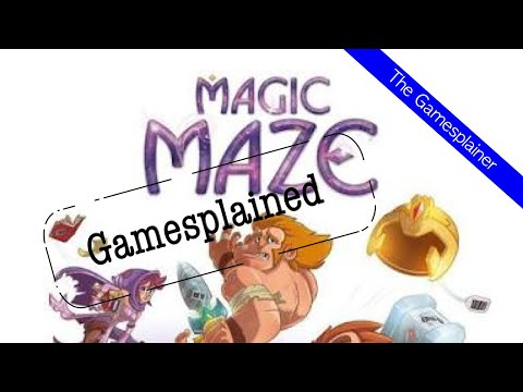Magic Maze Gamesplained - Part 1