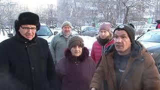 Жители Центральной 3 встретились с подрядчиками по вопросу качества капремонта