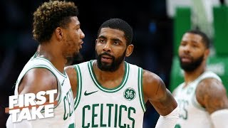 Kyrie Irving's lack of leadership is causing the Celtics' dysfunction - Max Kellerman | First Take