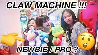 DAPAT BONEKA BANYAK ??? -  SUPER EXCITED ' CLAW MACHINE GAMES ' MAIN SAMPE PUAS RIYVLOG#12