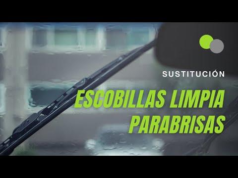 Escobillas del limpiaparabrisas del coche ¿cómo cambiarlas?