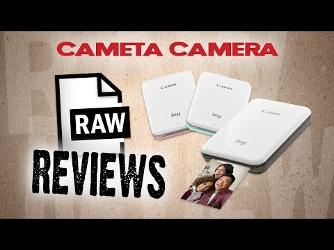 RAW Reviews – Canon IVY Wireless Mini Photo Printer