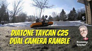FPV Cinewhoop | Diatone Taycan C25 | Akaso V50X and Insta360 GO Cameras