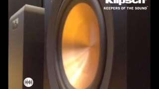 !!! Sound Test: Klipsch Reference Subwoofer R-110 SW !!!