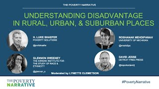 The Poverty Narrative: Understanding Disadvantage in Rural, Urban, and Suburban Places