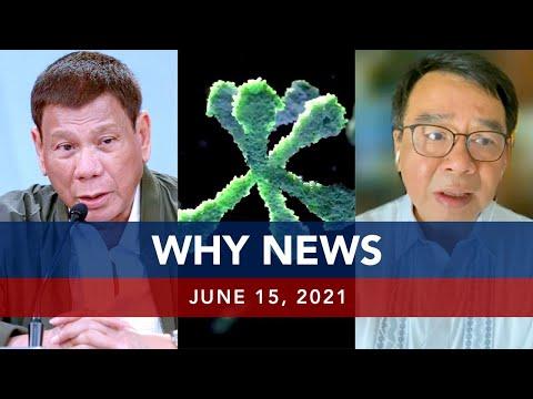 [UNTV]  UNTV: WHY NEWS | June 15, 2021