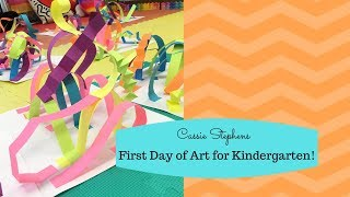 First Day Of Art With Kindergarten 2019!