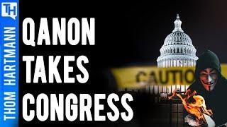 Qanon Conspiracy Takes Congress? (w/ Angelo Carusone)