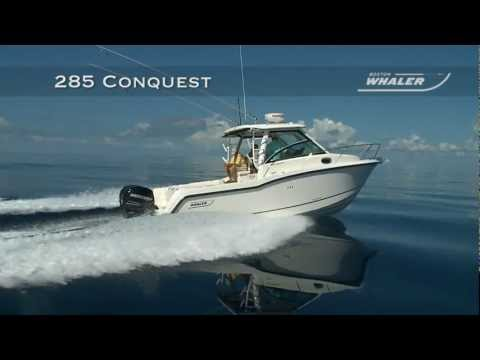 Boston Whaler 285 Conquest video