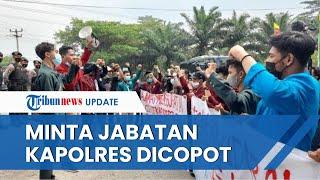 Buntut Oknum Polisi Banting Mahasiswa, Aliansi Mahasiswa Minta Kapolres Tangerang Dicopot Jabatannya