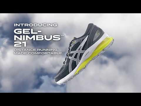 Беговые кроссовки Asics Gel-Nimbus 21   Официальный промо ролик   TopRun.com.ua