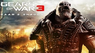 Gears of War 3: RAAM's Shadow Game Movie (All Cutscenes) HD