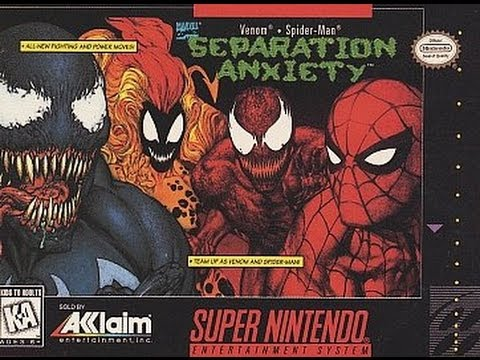 Spider-Man & Venom : Separation Anxiety Super Nintendo
