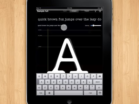 iFontMaker: Make Your Own Font When Nothing Else Will Do