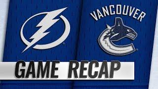 Lightning ride balanced offense, Vasilevskiy to win