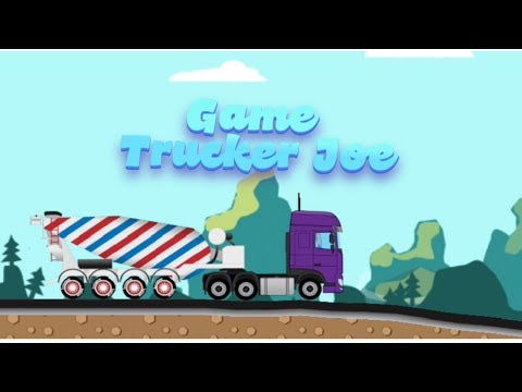 Game Trucker Joe today we transport concrete to the tank factory