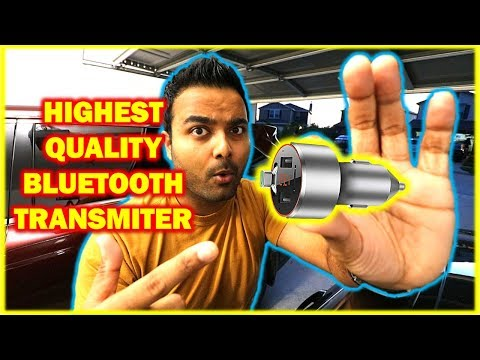 BEST BLUETOOTH FM Transmitter!! (Seriously Sounds Amazing)