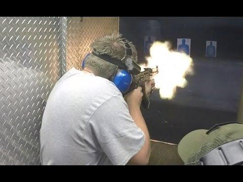 Glock 18 UZI MP5 M4 AK47 & HK53 Full Auto - xXxTHxXx