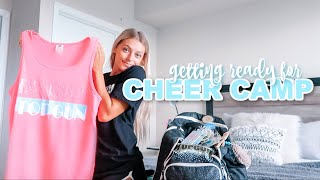 GETTING READY FOR CHEER CAMP: team gifts & packing