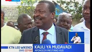 Musalia Mudavadi apongeza mkutano wa Raila na Rais mstaafu Moi