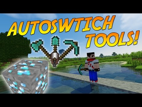 AUTOSWITCH TOOLS! [1.10] | Minecraft Mod Showcase & Guide!