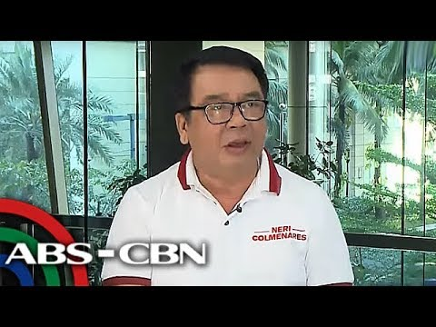 [ABS-CBN]  Colmenares wants to exempt water, power, oil from VAT