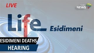 Life Esidimeni arbitration hearings, 19 October 2017