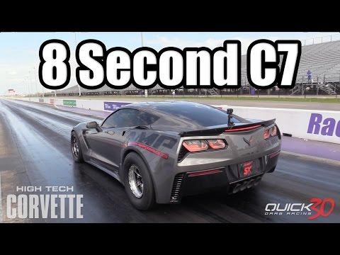 CRAZY! - 8 Second C7 Z06 Corvette!!!
