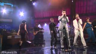 Joe Jonas - Just In Love And Fast Life live on Late Show with David  Letterman 2011