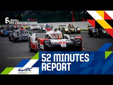 TOYOTA GazooRacingが勝利をおさめた スパ6時間。2020 WEC スパ・フランコルシャン6時間耐久レース 52分にまとめられたレースダイジェスト動画