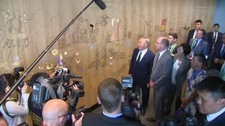 Альбер II провел экскурсию для Нурсултана Назарбаева в павильоне Монако
