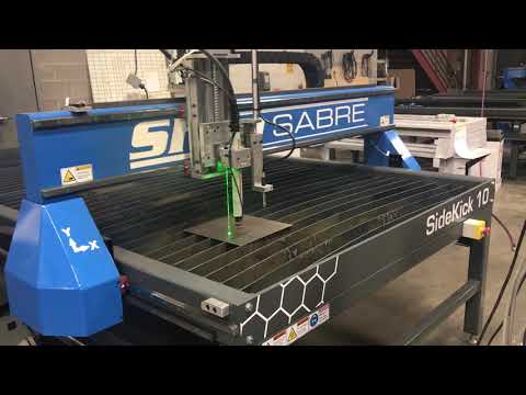 ShopSabre CNC Plasma – Speed Demovideo thumb