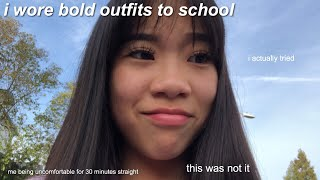 I Wore Cute Outfits To School For A Week And This Is What Happened