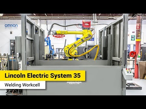Lincoln Electric System 35 Welding Workcell - FANUC