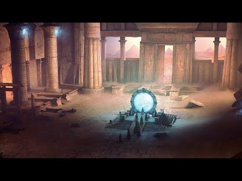 De verborgen Stargate deur van de sterren in de Zonnetempel van Abu Gurab