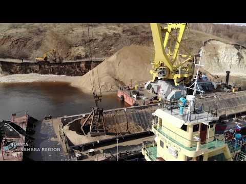 Коптер самарского видеоблогера заснял изменения на стройплощадке Климовского моста