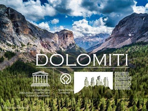 סרטון באיכות 4K של הרי הדולומיטים באיטליה