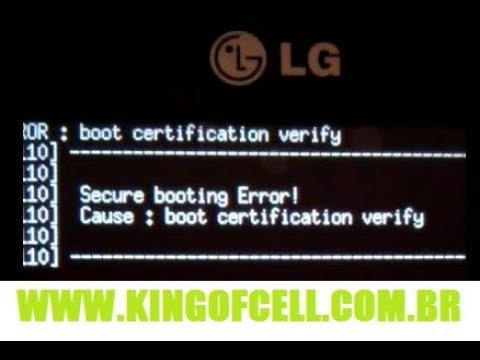 Descargar Erro Boot Certification Verification Lg G2 Lite MP3, MP4