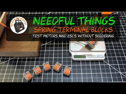 Needful Things - Spring Terminal Blocks from Banggood