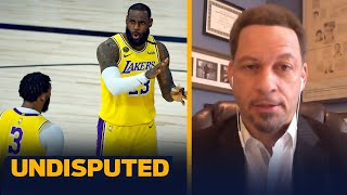 LeBron will need more from AD specifically against the Clippers — Chris Broussard | NBA | UNDISPUTED