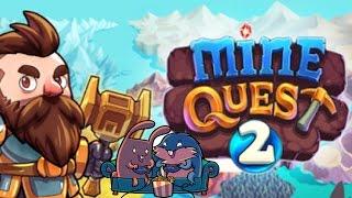 "Mine Quest 2 ""Копай!"" с Леммингом и Банзайцем"