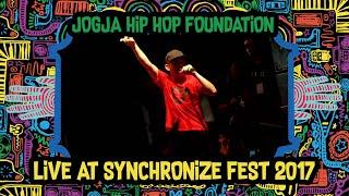 Jogja HipHop Foundation Live At SynchronizeFest - 7 Oktober 2017